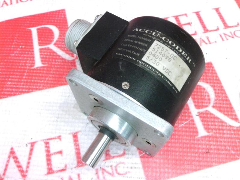 ACCU CODER 725N-21-S-0400-A-OC-1-F-N-S-Y-N-N