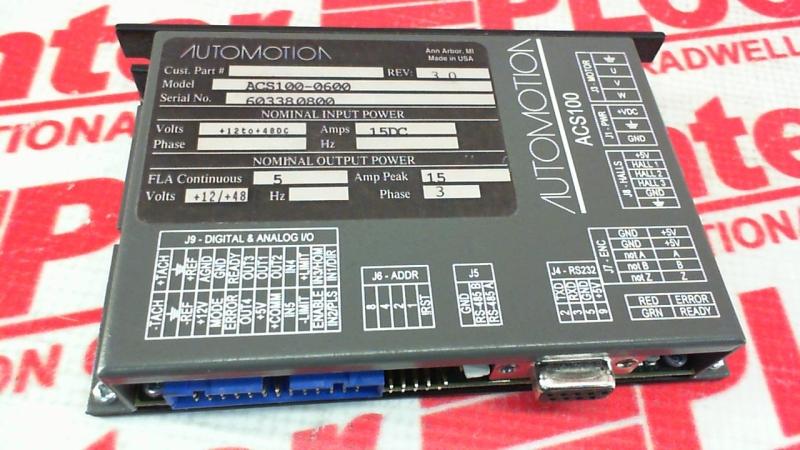 AUTOMOTION ACS100-0600