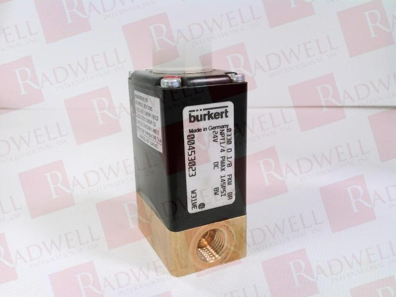BURKERT EASY FLUID CONTROL SYS 0330