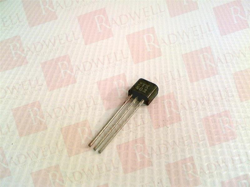 AMERICAN MICROSEMICONDUCTOR ZTX502