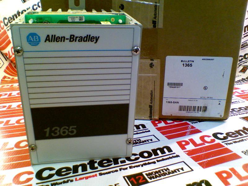 ALLEN BRADLEY 1365-SAN