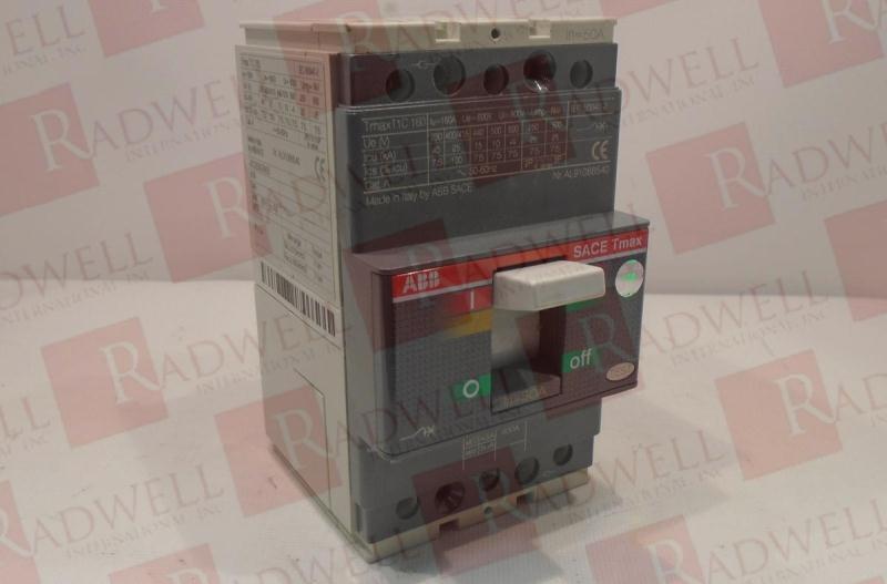 ABB T1C160-TMD50-630-3P-F-FC-CU