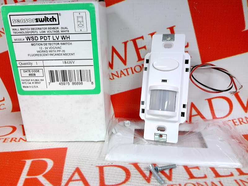 ACUITY CONTROLS WSD-PDT-LV-WH