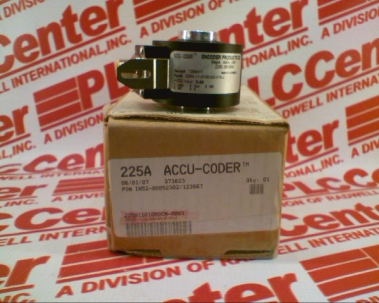 ACCU CODER 225A-11-0100-OC-F-N-J