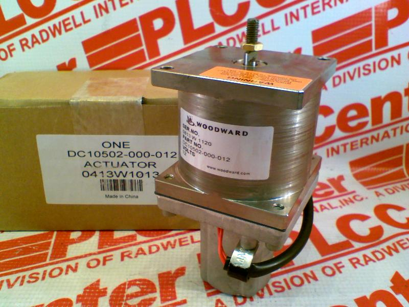 WOODWARD DC10502000012