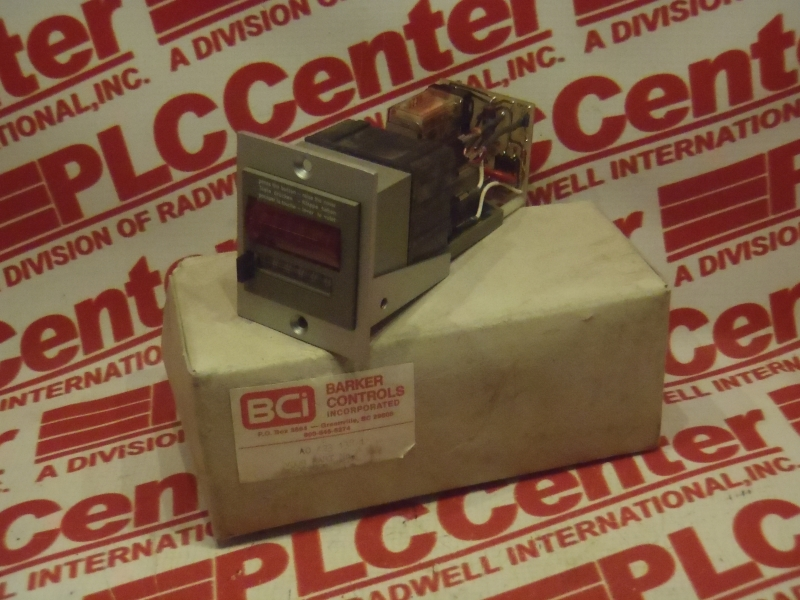 BARKER CONTROLS A0-423-138