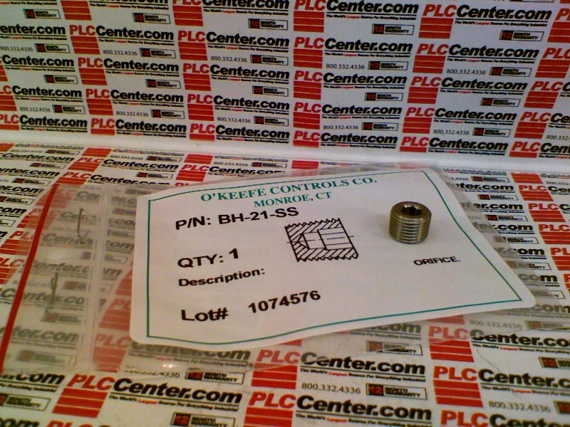 OKEEFE CONTROLS INC BH-21-SS