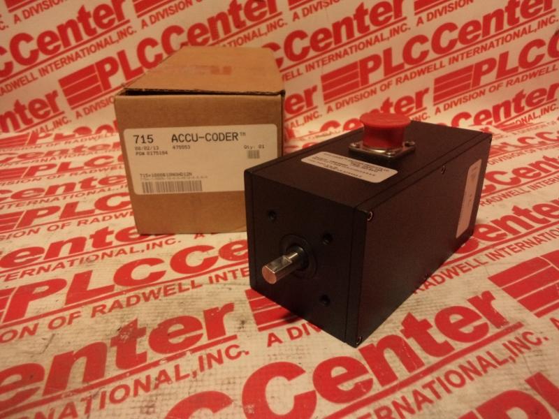 ACCU CODER 715-1-0006-10-N-O-HD12-6-S-S-N