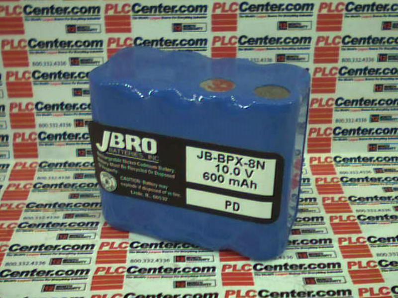 JBRO BATTERIES INC JB-BPX-8N