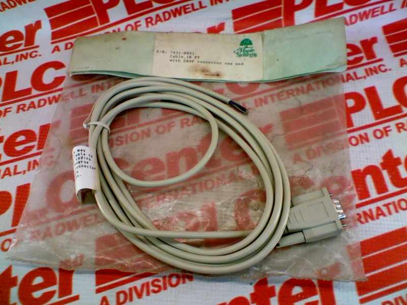 MAPLE SYSTEMS 7431-0051-10