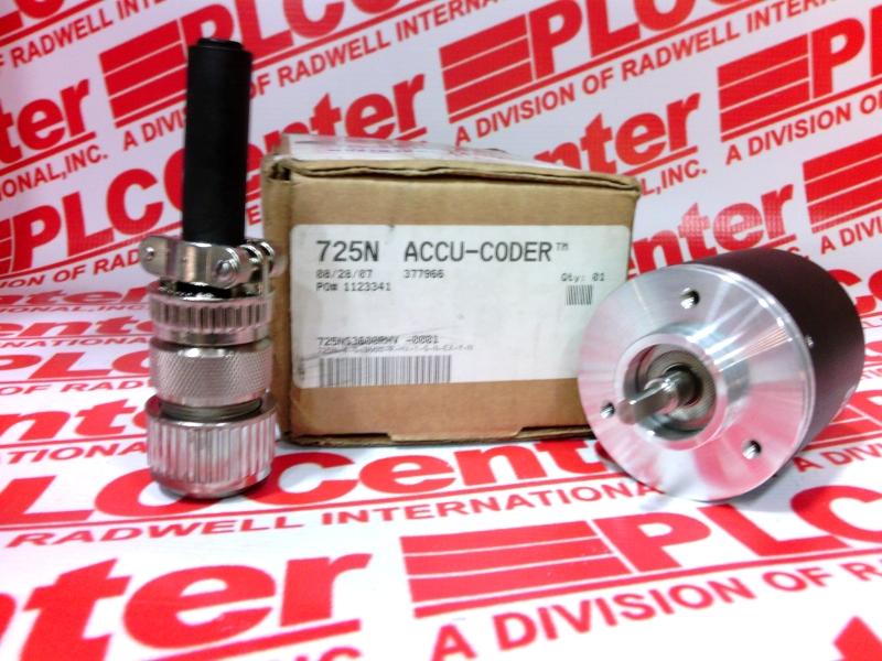 ACCU CODER 725N-4-S-3600-R-HV-1-S-N-EX-Y-N