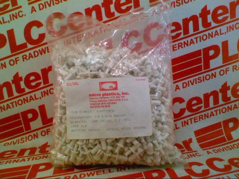 MICRO PLASTICS 61APF25056