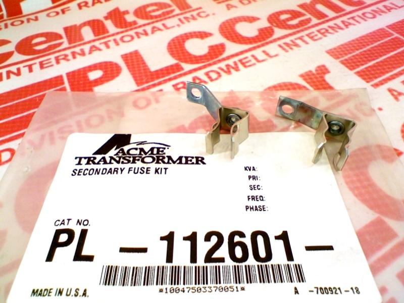 ACME ELECTRIC PL-112601