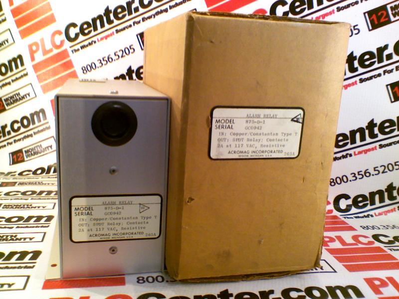 ACROMAG 875-D-1