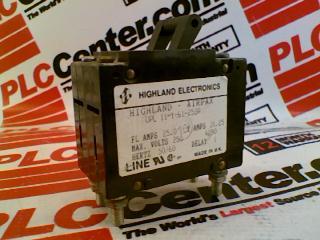 HIGHLAND ELECTRONICS CO UPL-11-1-61-253A