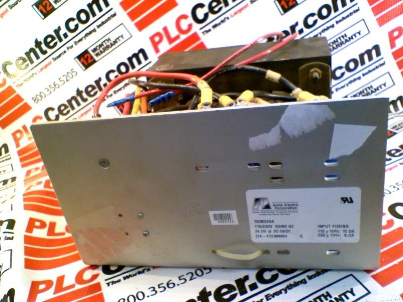 ACME ELECTRIC 750B24HA