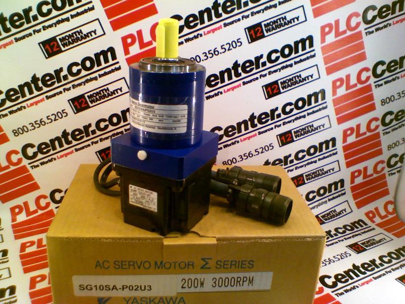 Sg10sa P02u3 By Yaskawa Electric Buy Or Repair At