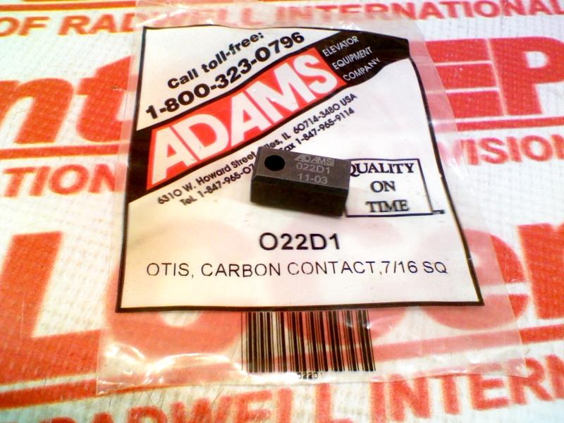 ADAMS ELEVATOR O-22D1