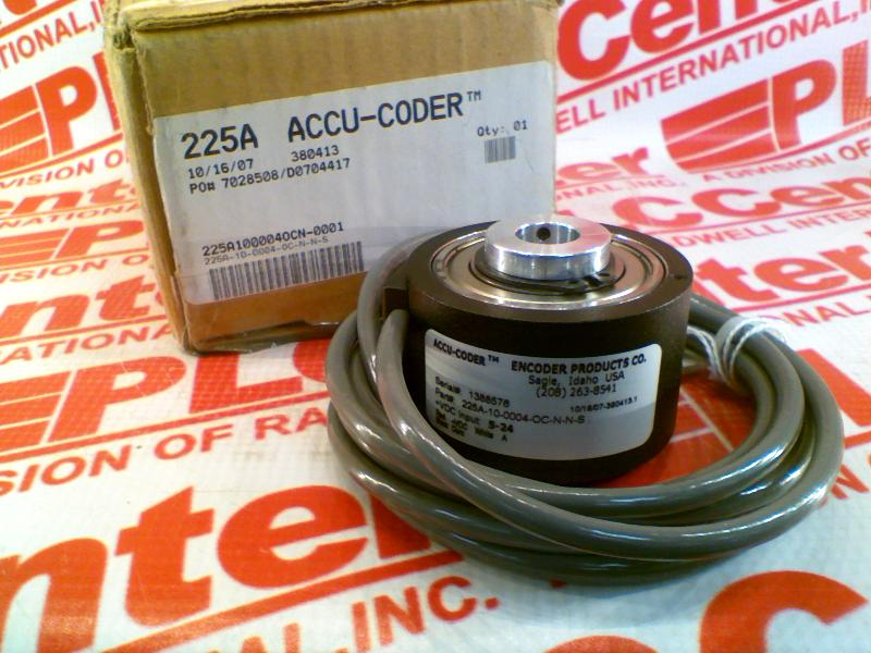 ACCU CODER 225A-10-0004-OC-N-N-S
