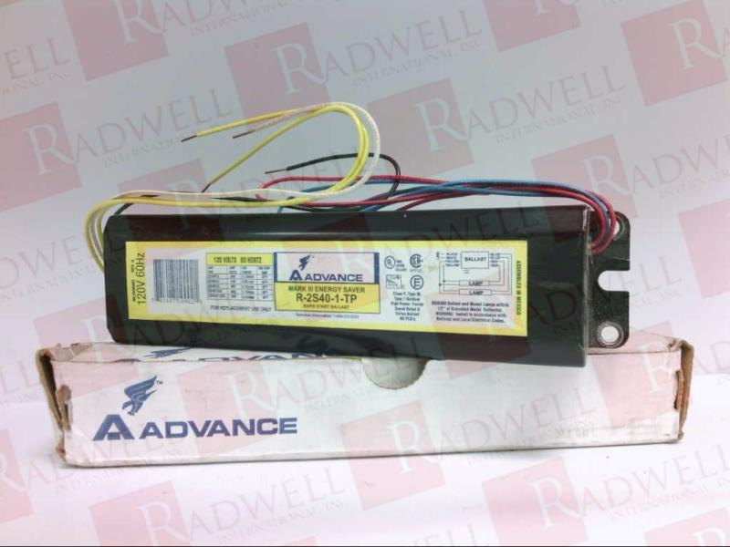 ADVANCE BALLAST R-2S40-1-TP