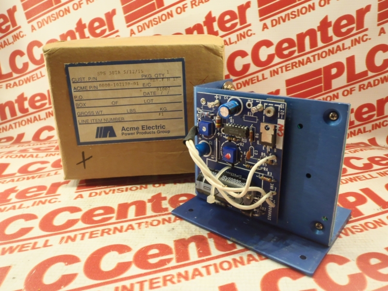 ACME ELECTRIC SPS-30TA-5/12/15