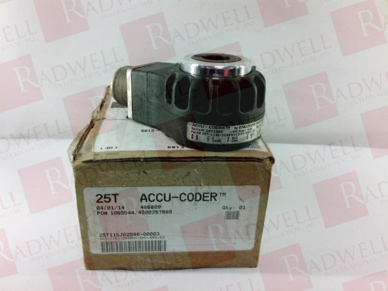 ACCU CODER 25T-11SJ-2048NV1DHV-SMX-S3