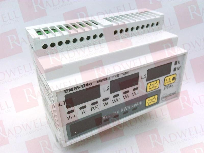 CONTREL ELETTRONICA EMM-D4EP-110-230-400VAC