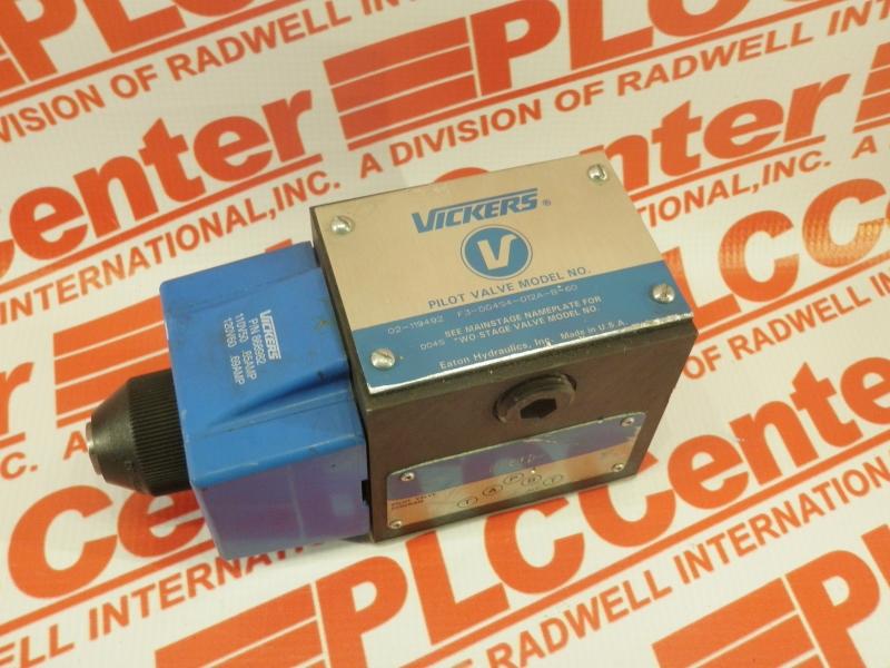 VICKERS F3-DG4S-4012-AB-60