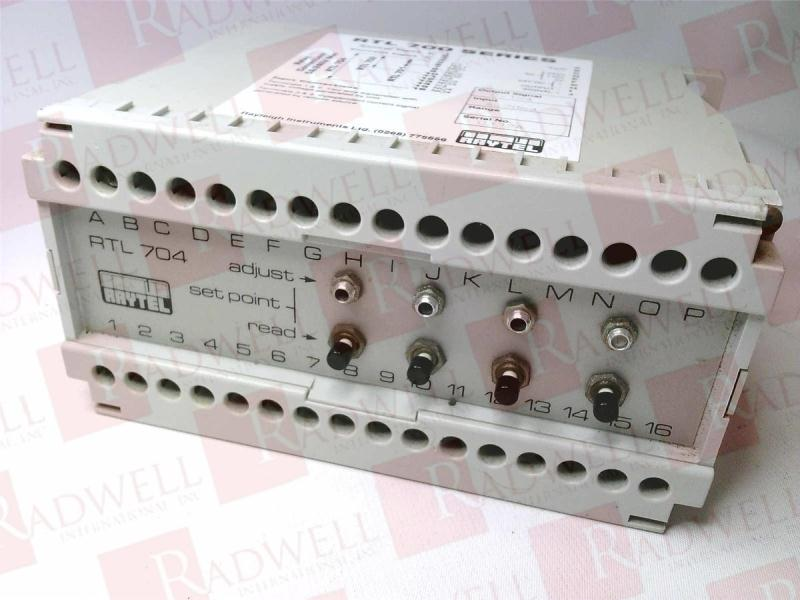 RAYLEIGH INSTRUMENTS RTL-704