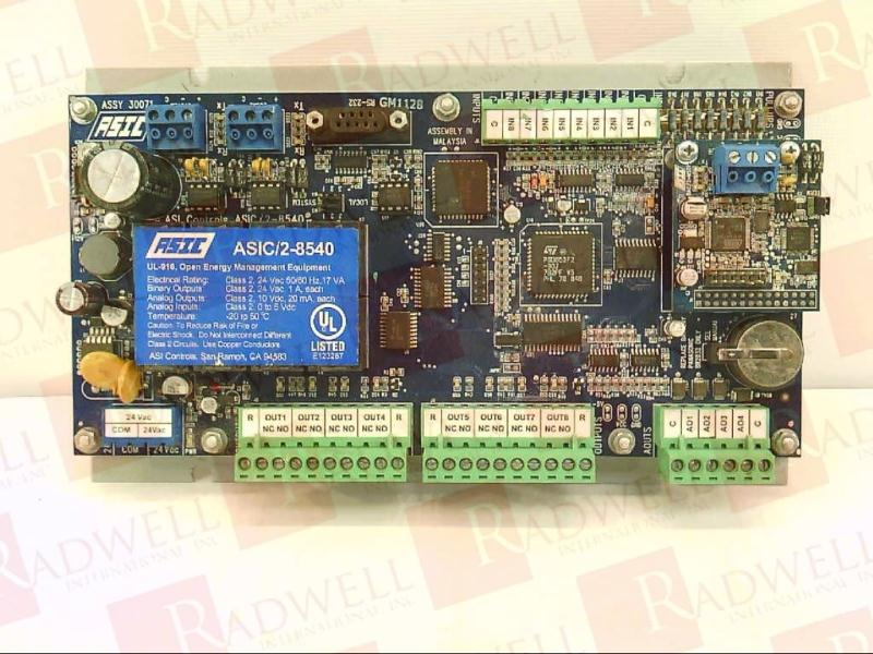AUTOMATIC SYSTEMS ASIC/2-8540