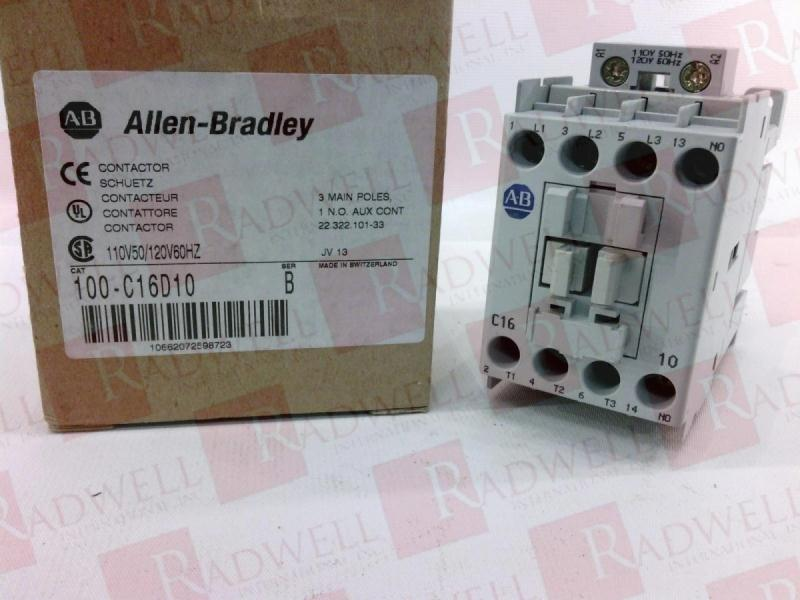ALLEN BRADLEY 100-C16D10