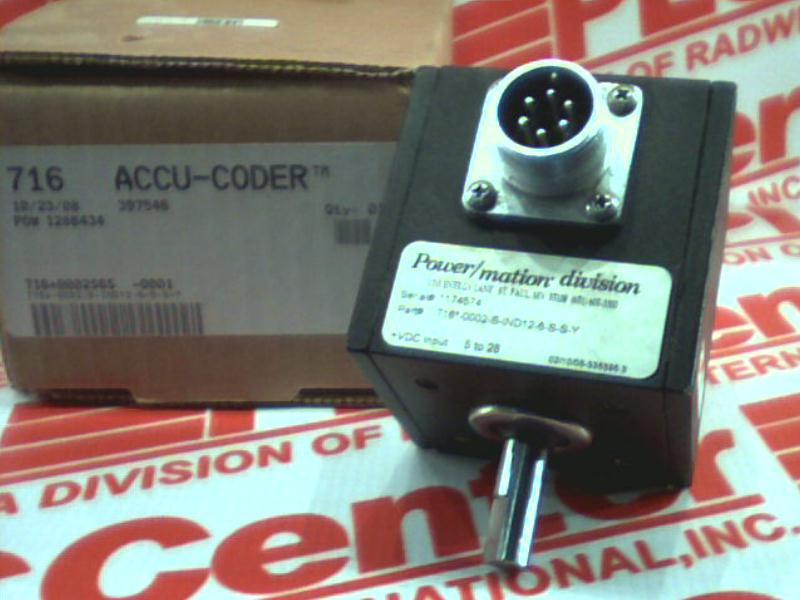ACCU CODER 716-0002-S-IND12-6-S-S-Y
