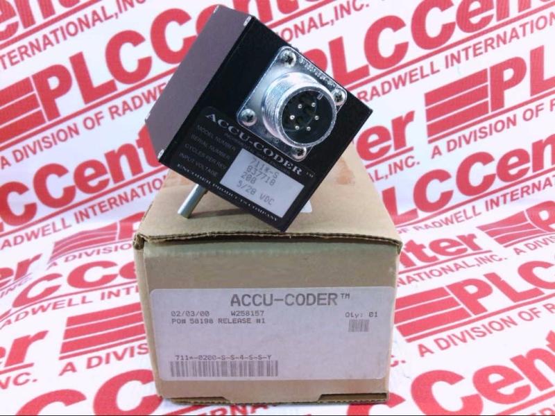 ACCU CODER 711-0200-S-S-4-S-S-Y