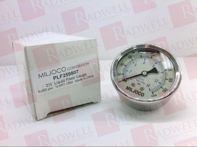 MILJOCO  CORP PLF259807