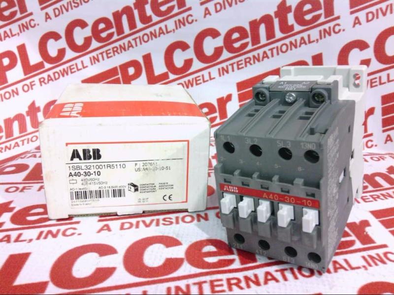 ABB A40-30-10-400-415V-50HZ/480V-60HZ