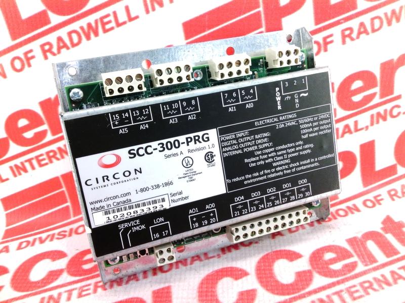 EFFICIENT BUILDING AUTOMATION SCC-300-PRG