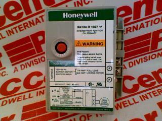 HONEYWELL R4184D-1027