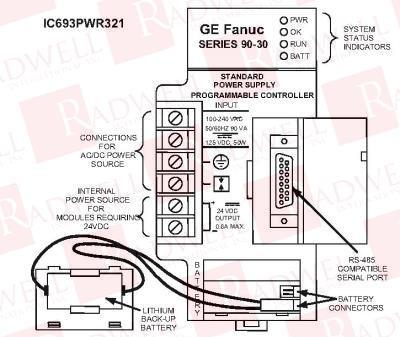 FANUC IC693PWR321 1