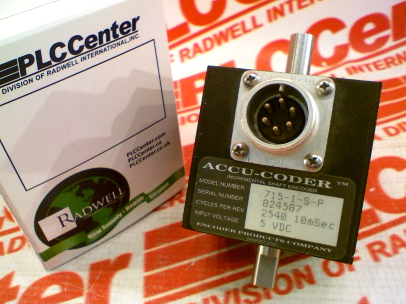 ACCU CODER 715-1-2540-10-P-S-S-6-D-S-N