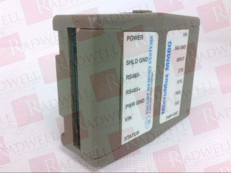 ESCORT MEMORY SYSTEMS MM-80
