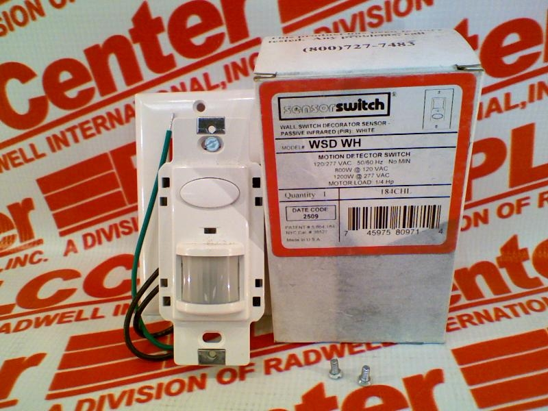 ACUITY CONTROLS WSD-WH
