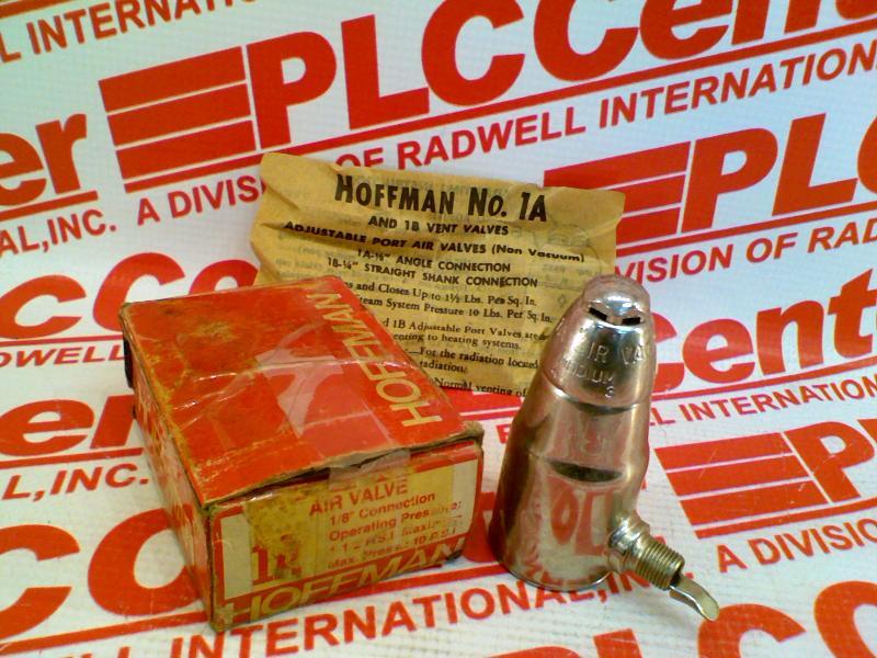 HOFFMAN SPECIALTY 1A