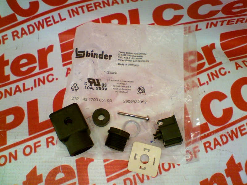BINDER USA 43-1700-851-03