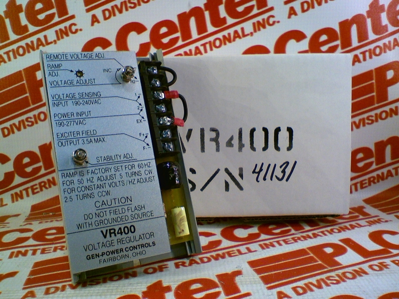 GEN POWER CONTROLS VR400