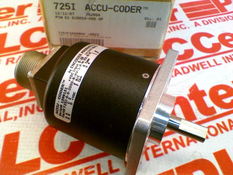ACCU CODER 725I-S-S-2000-R-HV-1-F-N-EX-N-N