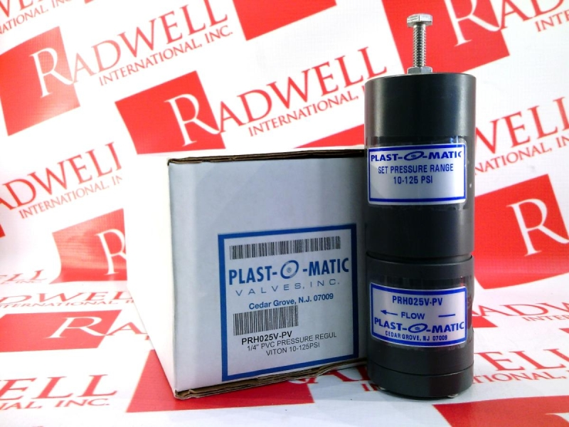 PLASTOMATIC VALVES PRH025V-PV