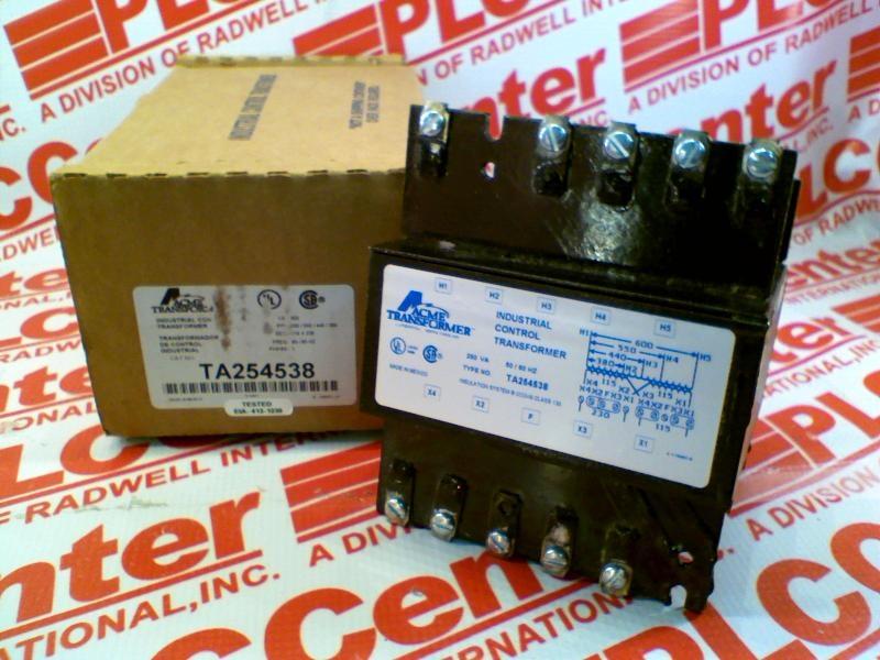 ACME ELECTRIC TA254538