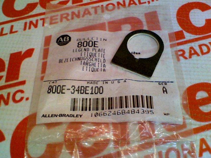 ALLEN BRADLEY 800E-34BE100