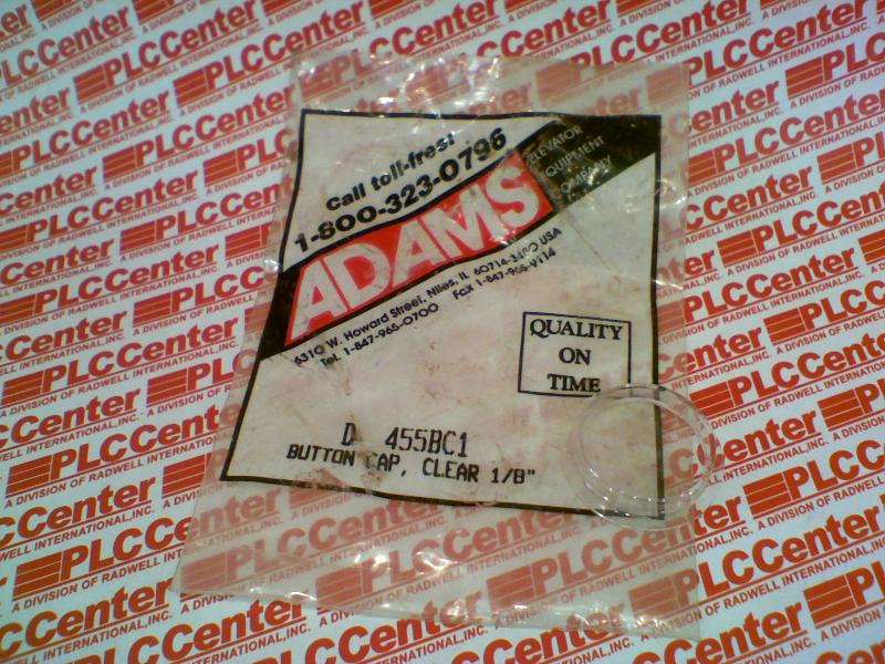ADAMS ELEVATOR D-455BC1