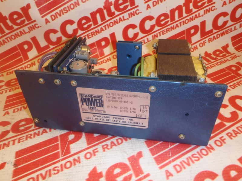ACME ELECTRIC SPS-70T-5/12/15